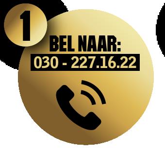 Bel naar 030 - 227.16.22
